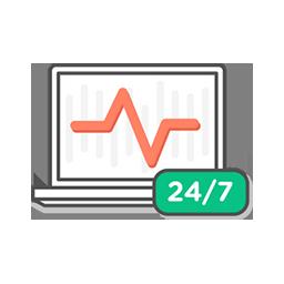 Infogerance Supervision matérielle et logicielle 24/7